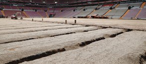 Türk Telekom Stadyumu'ndaki zemin çalışmaları hakkında bilgilendirme
