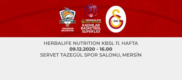 Maça Doğru | ÇBK Mersin Yenişehir Belediyesi - Galatasaray