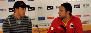 Maç Sonu: Fernando Muslera ve Johan Elmander