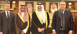 Aküzüm'den Saud bin Nayef'e ziyaret