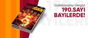 Galatasaray Dergisi'nin 190. sayısı bayilerde