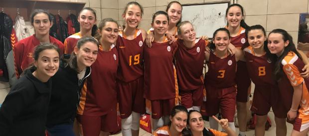 U14 Kız   Galatasaray 75-30 İstanbul DSİ