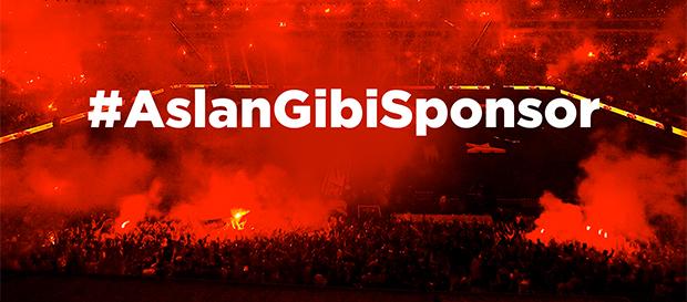 Online ödeme ile #AslanGibiSponsor kampanyasına katılın