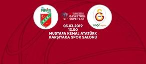 Maça doğru | Pınar Karşıyaka - Galatasaray Doğa Sigorta