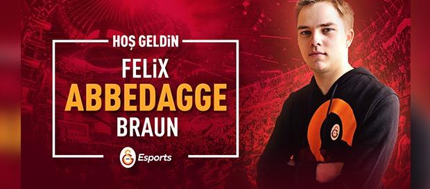 Galatasaray Espor kaptanı Abbedagge oldu