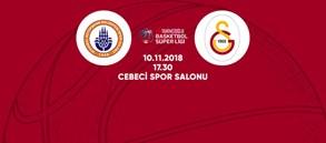 Maça doğru | İstanbul BBSK - Galatasaray