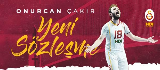 Onurcan Çakır ile 3 yıllık sözleşme uzatıldı