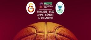 Maça doğru | Galatasaray – OGM Ormanspor