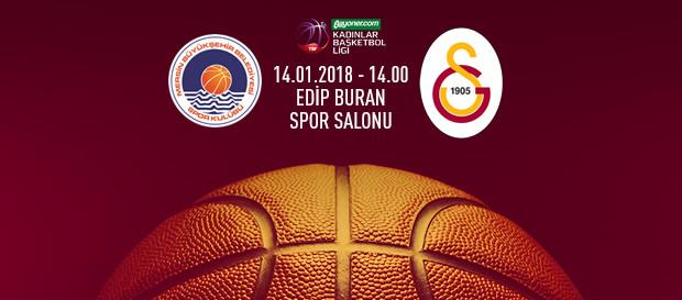 Maça doğru | Mersin BB – Galatasaray