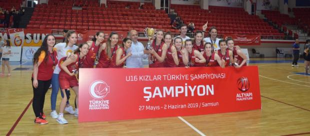 U16 Kız Basketbol Takımımız Türkiye Şampiyonu