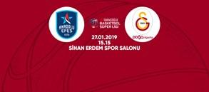 Maça doğru   Anadolu Efes – Galatasaray Doğa Sigorta