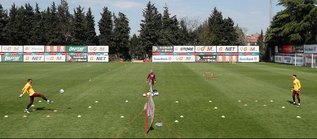 Galatasaray returns to training ground after COVID-19 hiatus