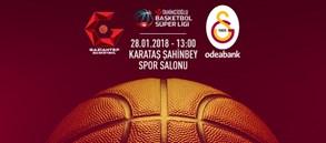 Maça doğru | Gaziantep Basketbol – Galatasaray Odeabank