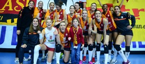 Galatasaray HDI Sigorta 3-0 CSM Volei Alba Blaj