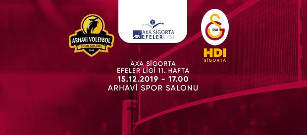 Maça doğru | Arhavi Voleybol - Galatasaray HDI Sigorta