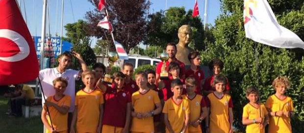 İstanbul Optimist Sailing Week Yarışları'nda dereceler