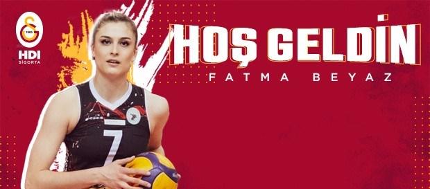 Fatma Beyaz Galatasaray'da