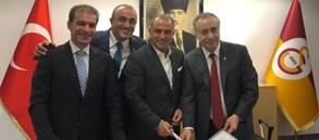 Sayın Fatih Terim ile Sözleşme İmzalanması