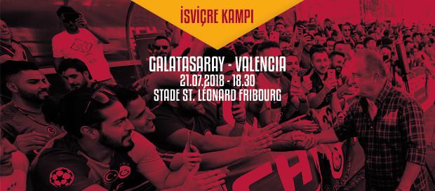Hazırlık maçı   Galatasaray – Valencia