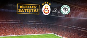 Konyaspor maçı biletleri satışta