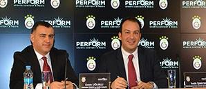 Galatasaray ile Perform Sponsorluk Anlaşması İmzaladı