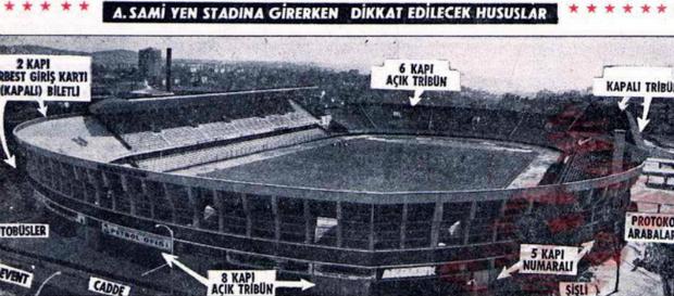 O Gün   Ali Sami Yen'de ilk profesyonel maç