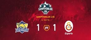1907 Fenerbahçe Espor 1-1 Galatasaray Esports