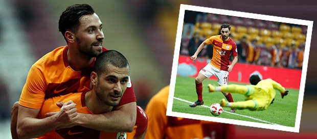 350. gol Sinan Gümüş'ten