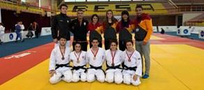Kosova Judo Turnuvası'nda 5 madalya