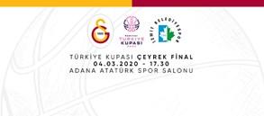 Maça Doğru   Galatasaray - İzmit Belediyespor