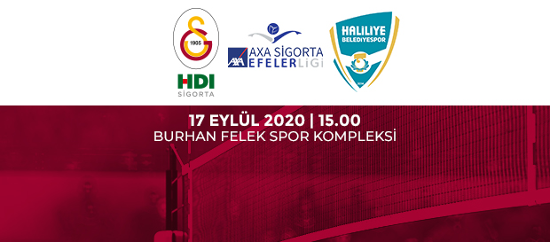Maça Doğru   Galatasaray HDI Sigorta - Haliliye Belediye