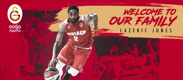 Lazeric Jones Galatasaray Doğa Sigorta'da