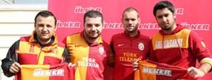 """""""Ülker Ayın Golü"""" Sneijder'den"""