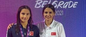 Nehir Öner'den 200m karışık kategorisinde bronz madalya