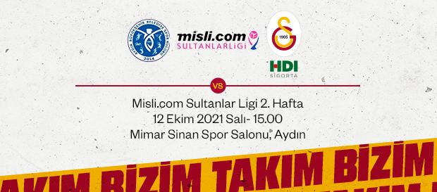 Maça Doğru | Aydın Büyükşehir Belediye - Galatasaray HDI Sigorta