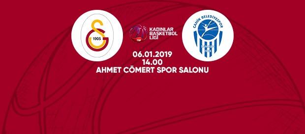 Maça doğru | Galatasaray – Canik Belediye