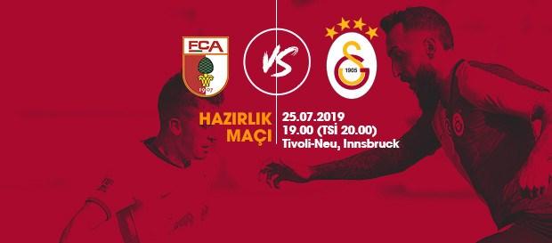 Hazırlık maçı: FC Augsburg - Galatasaray