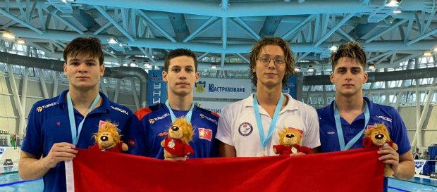 Milli yüzücülerimizden Comen Yüzme Şampiyonası'nda dereceler