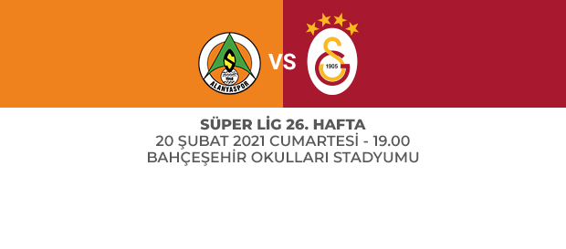 Maça Doğru | Aytemiz Alanyaspor - Galatasaray