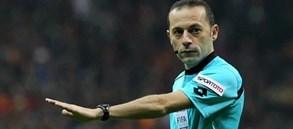 Gaziantep FK maçının hakemi Cüneyt Çakır