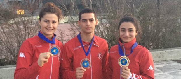 Judocularımızdan Avrupa Gençler Kupası'nda 3 madalya