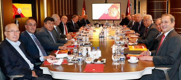 Galatasaray Spor Kulübü İstişare Komitesi ilk kez toplandı