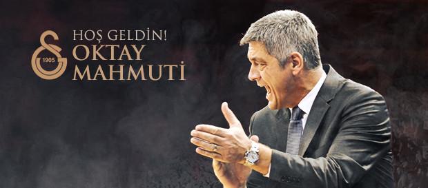 Oktay Mahmuti Galatasaray Odeabank'ta