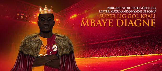 Gol Kralı Mbaye Diagne!