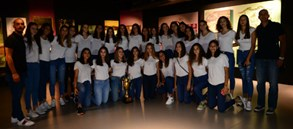 Voleybol Altyapı Takımları Galatasaray Stadyum Müzesi'ni ziyaret etti