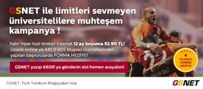 GSNET ÜNİVERSİTELİ KAMPANYASI VE 4 YILDIZLI FORMA KAMPANYASI BİRARADA!