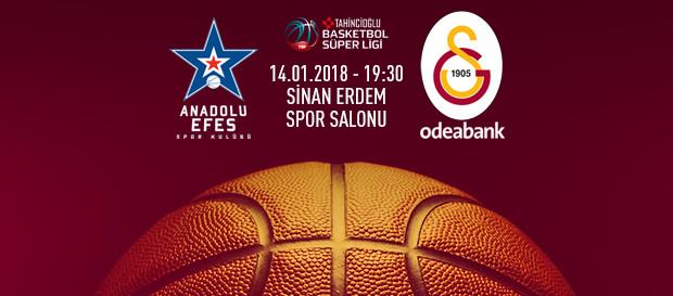 Maça doğru | Anadolu Efes – Galatasaray Odeabank