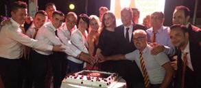 22. şampiyonluk kutlamaları Kuşadası'nda devam etti