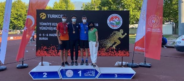 Türkiye Atletizm Şampiyonası'nda başarılı dereceler