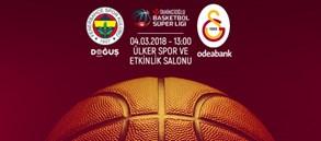Maça doğru   Fenerbahçe Doğuş – Galatasaray Odeabank